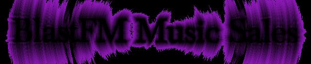 BlastFM Music Sales Logo Image